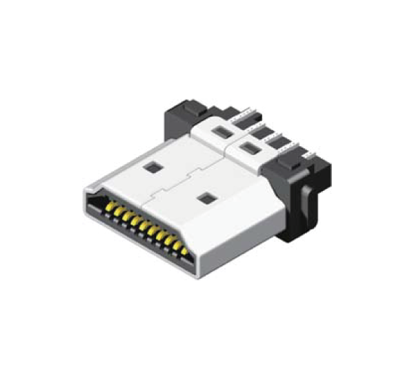 HDMI Male Solder 19 Pin-N1