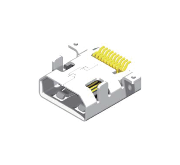 Mirco HDMI Female 19 Pin SMT Type