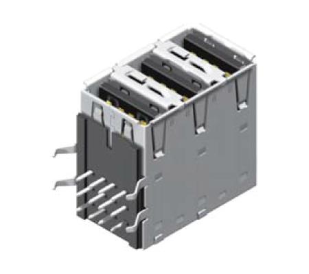 USB Female 3 Ports A Type