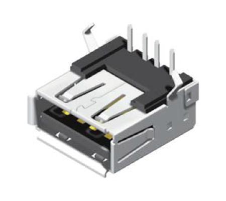USB Female Dip 90° A Type