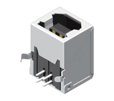 USB Female Dip 90° B Type