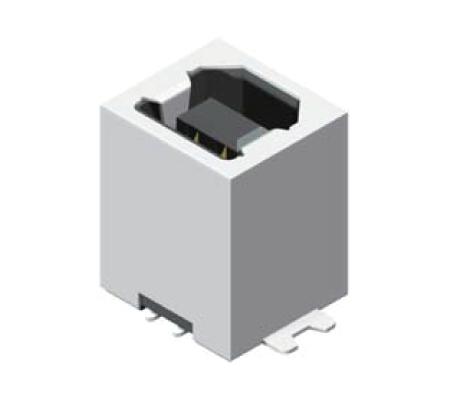 USB Female SMT 180° B Type