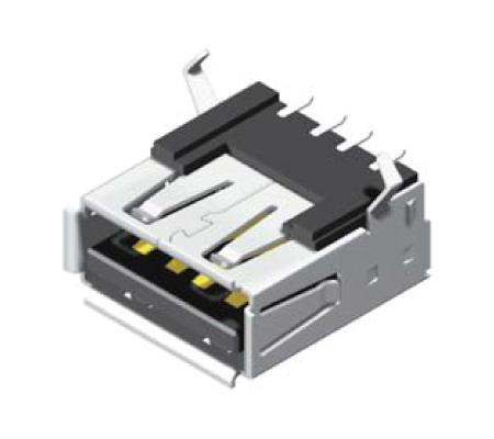 USB Female SMT 90° A Type