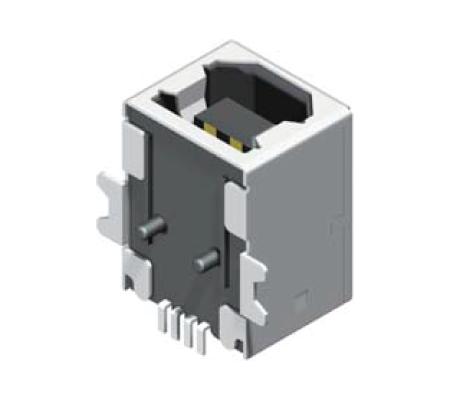 USB Female SMT 90° B Type