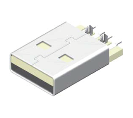 USB Male Break SMT - Y Leg A Type