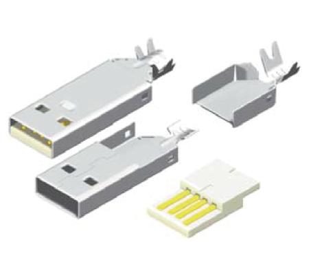 USB Male Solder A Type