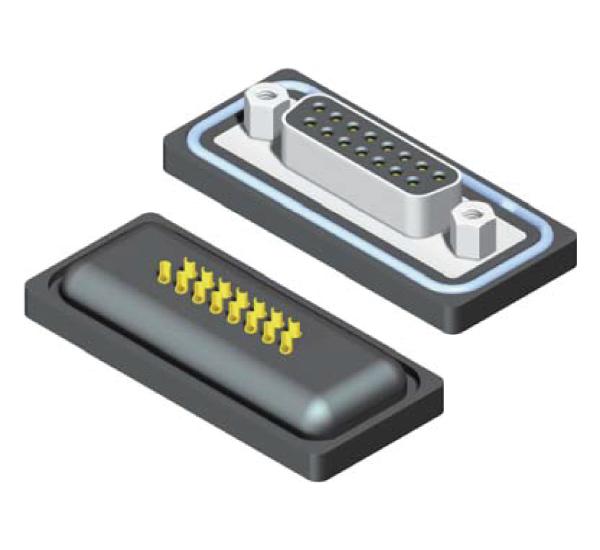 Waterproof D-SUB Solder Type