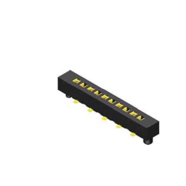 Buchsenleiste 1.27mm 1 -reihig H=2.0mm durchsteckbar SMT Type