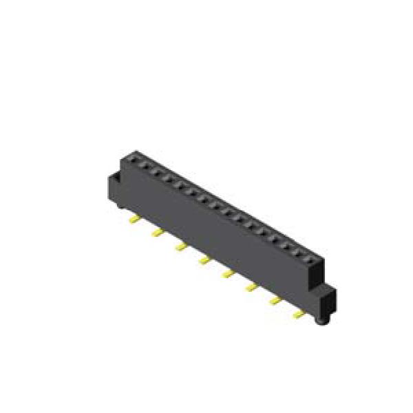 Buchsenleiste 1.27mm 1 -reihig H=3.4mm SMT Type