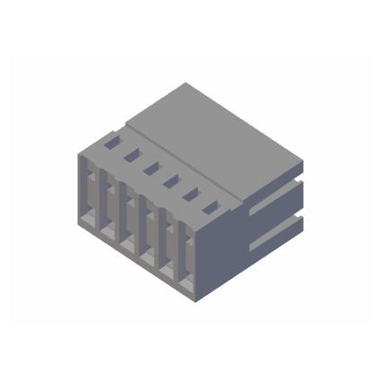 Standardgehäuse zweireihig CF4F