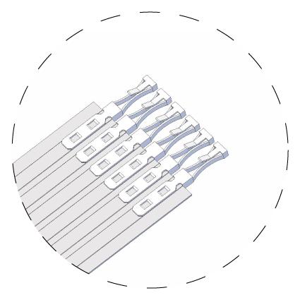 Buchsenkontakt mit geringer Steckkraft CFBGS